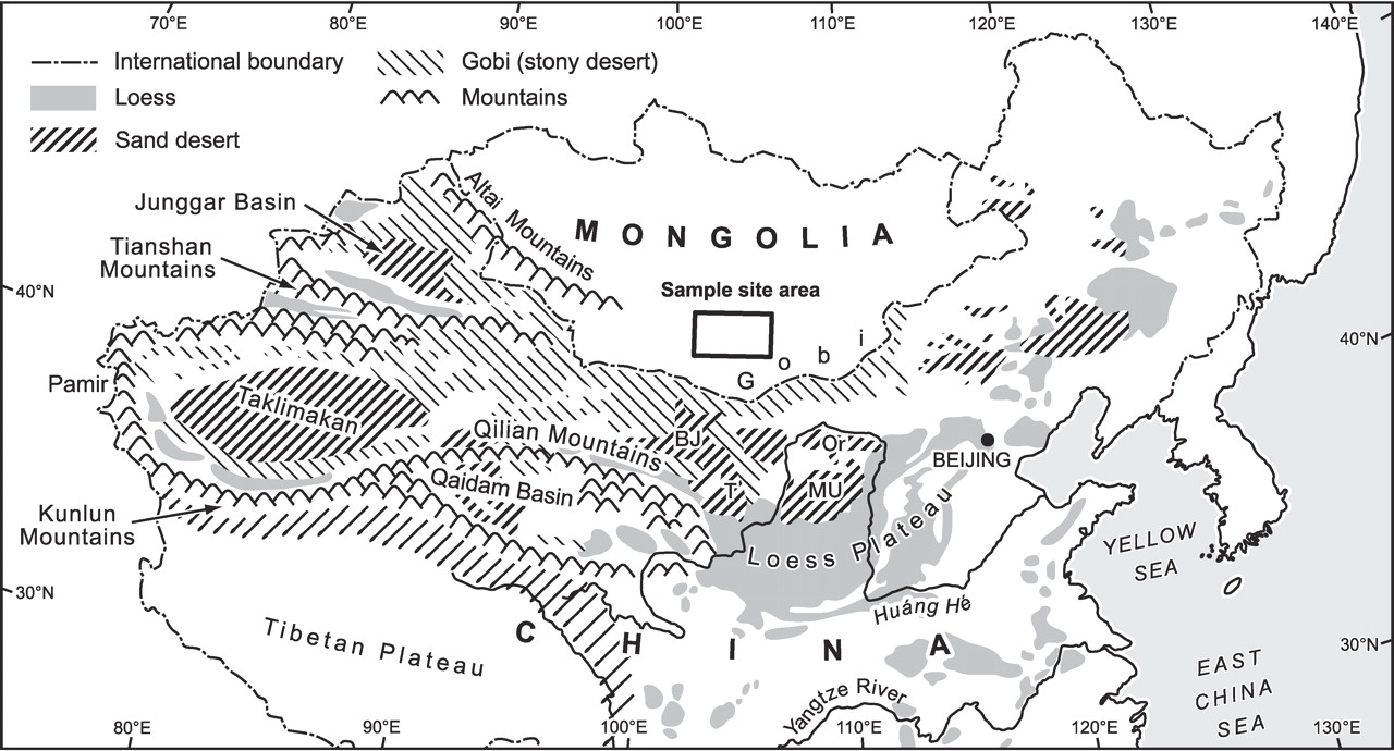 The Loess Plateau Geography 5 The Loess Plateau Of China And Its - Desertification Us Soil Erosion Map Us